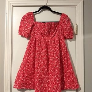 Fuschia Eyelet Dress